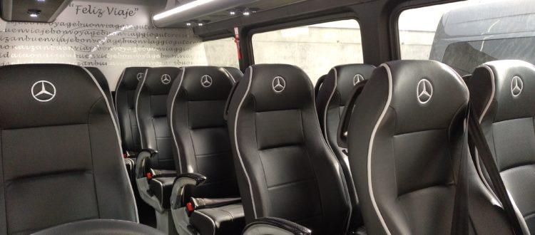 minibus con conductor