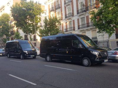Contratar transporte privado para empresas
